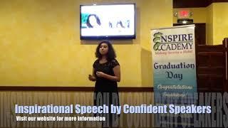 Inspirational Speech - Michelle Obama