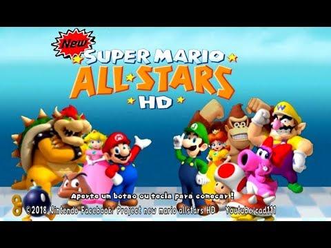 New Super Mario All Stars HD: Super Mario Bros 3 Remake - Mundo 3