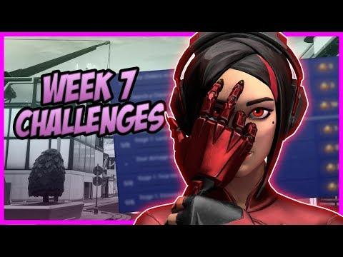 All *LEAKED* Season 9, Week 7 Challenges - Fortnite Battle Royale