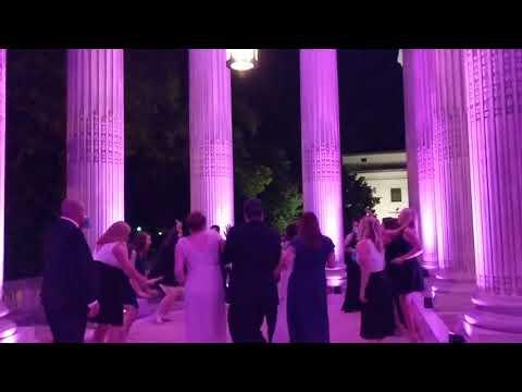 Wedding Dancing and Uplighting at DAR in Washington DC