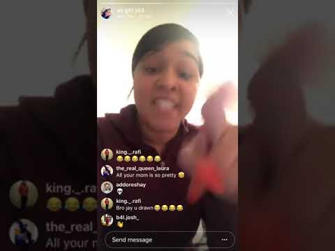 Mom exposes daughter on Instagram live! (UNCALLED FOR)