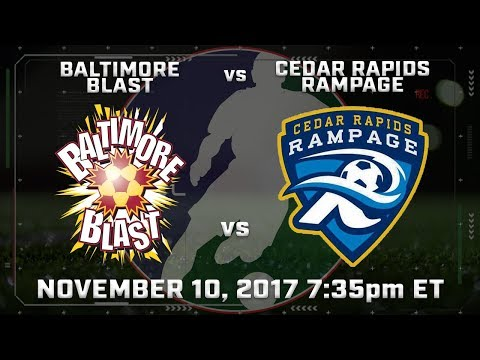 Baltimore Blast vs Cedar Rapids Rampage