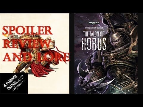 Warhammer Review And Lore: The Talon Of Horus By Aaron Dembski-Bowden