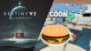 [ LIVE 🔴 ] [ Destiny 2 Shadowkeep & Roblox Restaurant tycoon 2 ] Pierwsze wrażenia z gier!