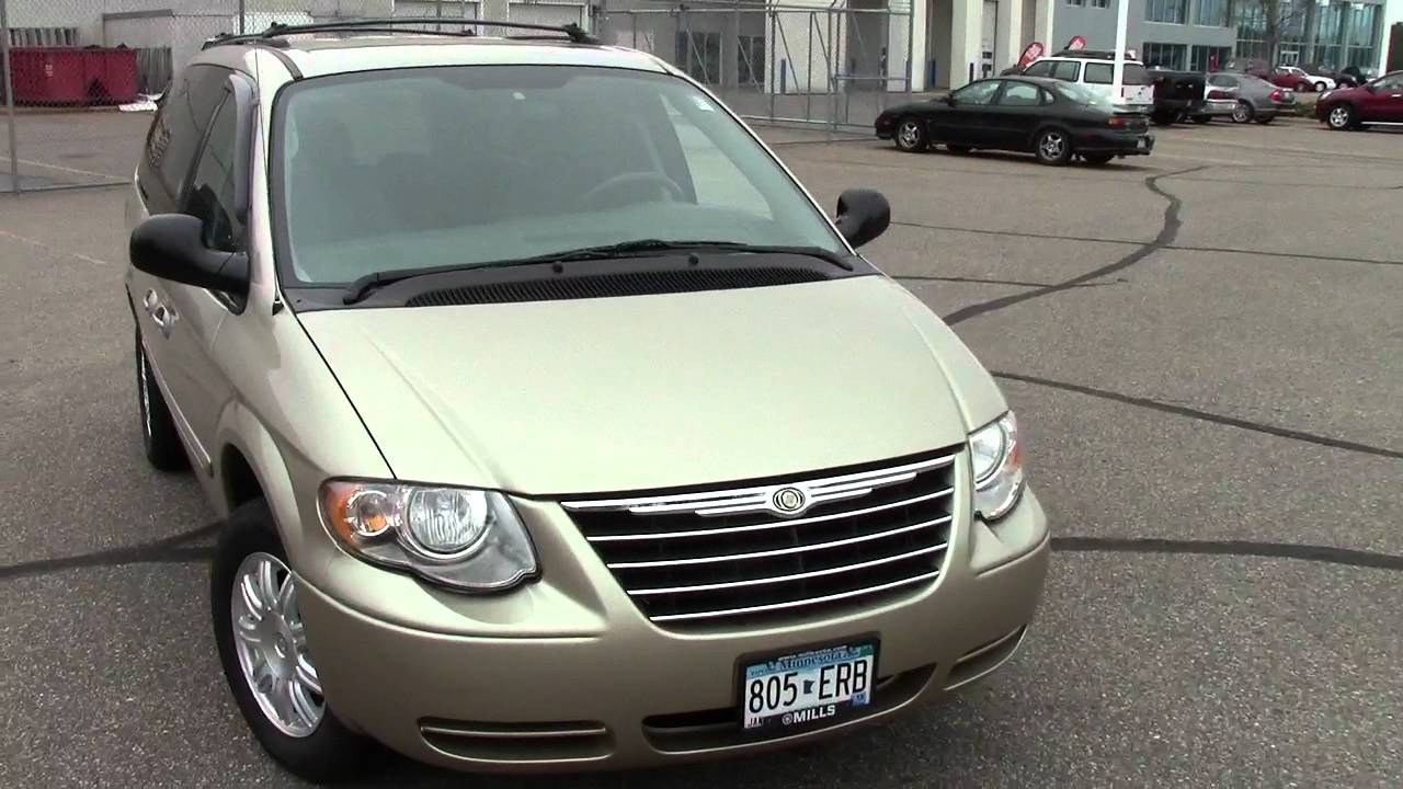 2006 Chrysler Town  U0026 Country Touring Edition