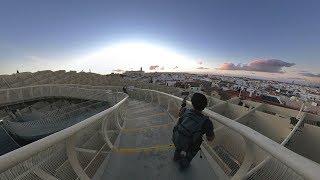 Panjat Bangunan Cendawan Seville (Shot on Samsung S10+)