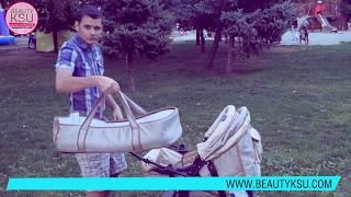 Обзор бюджетной коляски Viki Карина. Коляска для ребенка. Транспорт для малыша