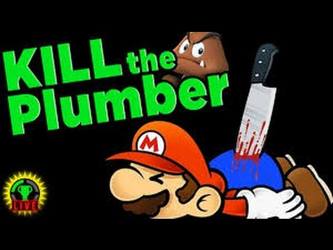 first gaming video by MISTERSSIPPIE!!!//KILL THE PLUMBER!!!