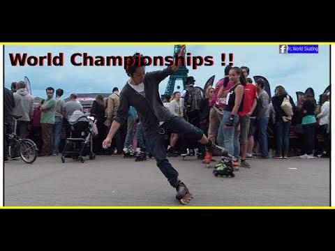 Roller Skating Tutorial patinaje Freestyle - Slide World Championships Paris 2014 (seba skates)
