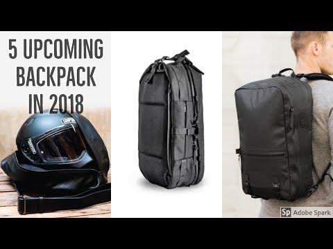 5 Upcoming backpack in 2018 | kickstarter backpack travel | best backpacks for travel