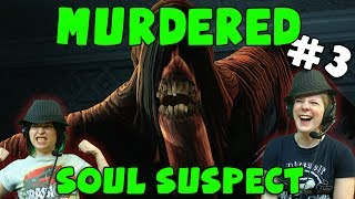 Murdered: Soul Suspect - Demon Hopping (#3) with Hannah & Kim!