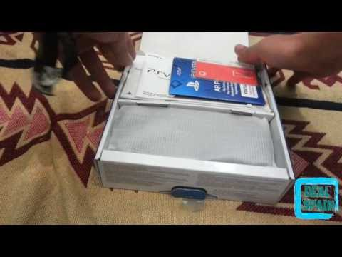 Unboxing PsVita Uncharted + Memory Card