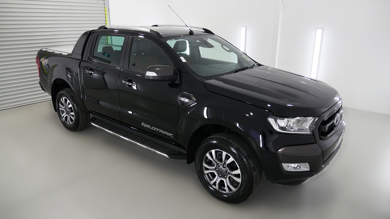 ford ranger wildtrak shadow black 4x4 auto mwh7 youtube. Black Bedroom Furniture Sets. Home Design Ideas