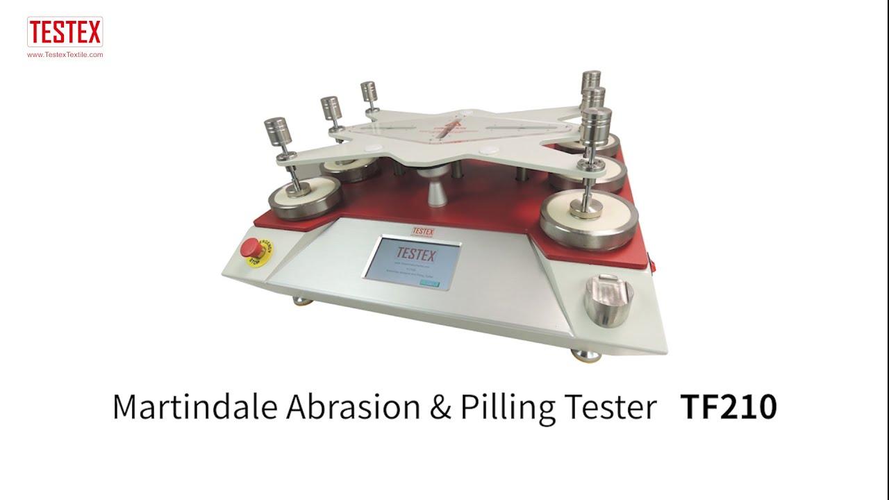 Download Martindale Abrasion & Pilling Tester TF210