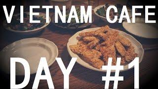 VIETNAM CAFE.ВЬЕТНАМ.Нам Динь. День #1.VIETNAM.NAMH DINH.Вьетнамская кухня.