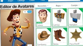 We created the WOODY PROFILE in ROBLOX !! | Rovi23 Roblox