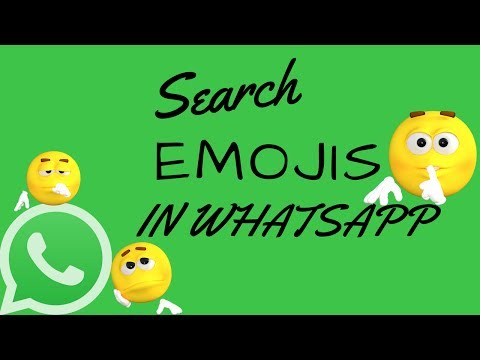 How To Search Emojis In WhatsApp - Latest WhatsApp Update