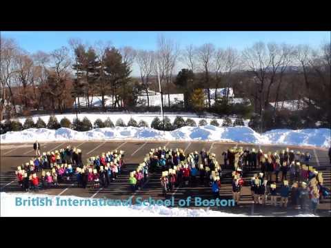 Go Pats! -- Patriots Spirit from the British International School of Boston