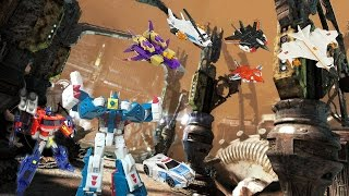 Transformers Face the devastation the movie stop motion ( one year special )