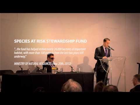 Hon. David Orazietti - Introductions and Welcome - OESAC 2013
