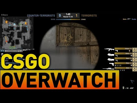 CSGO Overwatch: When hackers make it easy