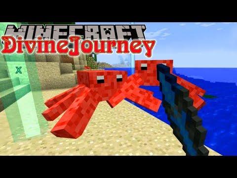 Minecraft | Divine Journey | #2 CRAB-POCALYPSE