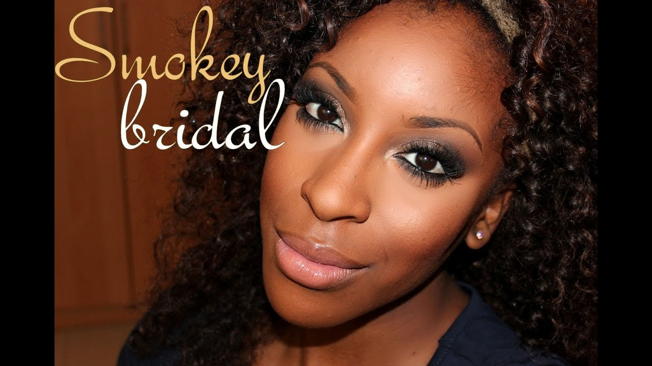 Smokey bridal makeup tutorial youtube smokey bridal makeup tutorial baditri Images