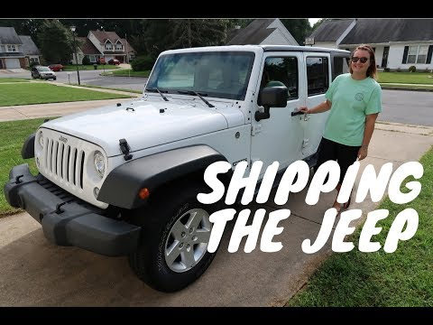 Shipping The Jeep