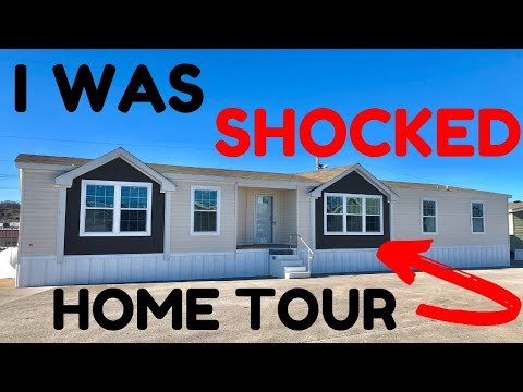 So Surprised When I Walked Into This Mobile Home For The First Time! Home Tour You Shouldn't Miss.