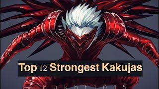 Top 12 Strongest Kakujas in Tokyo Ghoul :Re (Series Finale)