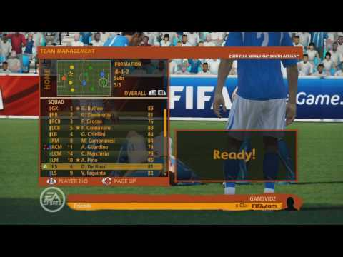 Fifa World Cup 2010 South Africa Demo Gameplay With Live Commentary
