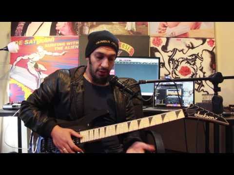How to play 'Six' by All That Remains Guitar Solo Lesson w/tabs