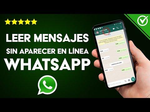 Cómo Leer y Responder Mensajes en WhatsApp sin Aparecer en Línea y sin que te vean