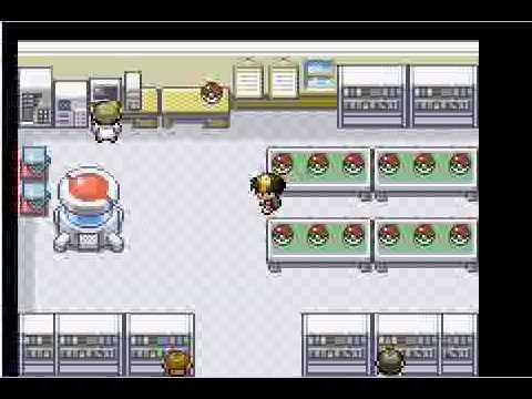 RPGMaker XP Pokemon Game: Pokemon DarkFlame FireRed Remake
