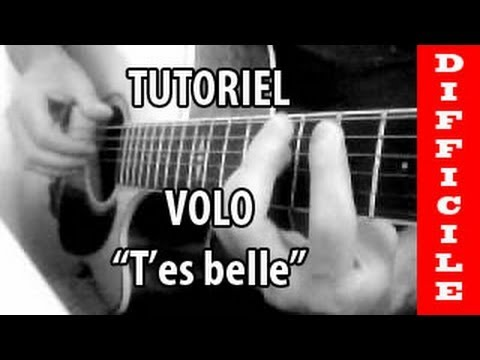 partition guitare t'es belle volo