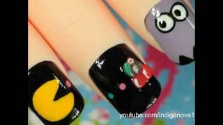 Pacman Nail Art Tutorial
