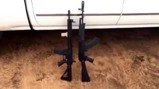 AR-15 Vs AK-47 Accuracy Test