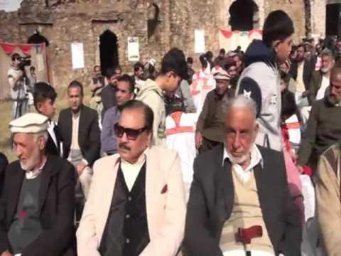 Raja Khalid Mahmood Kayani at Youm e Sultan Sarang Khan Gakhar