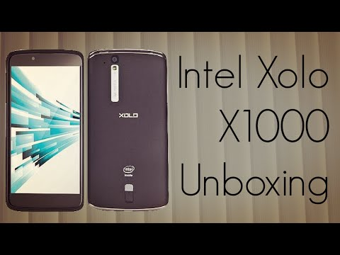 Intel Xolo X1000 Unboxing - 2 GHz Atom based Android HD Smart Phone - PhoneRadar