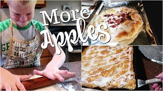 🍎Country Wife Makes Rustic Apple Pie & Apple Pie Slices (my husband's favorite)😘