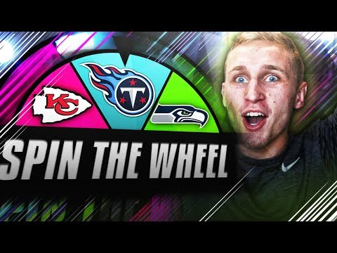 SPIN THE WHEEL OF NFL TEAMS! Madden NFL 18