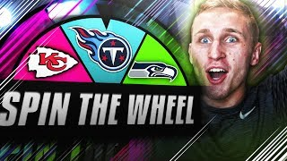 SPIN THE WHEEL OF NFL TEAMS! Madden NFL 18 2017 Video