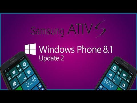Atualizar Samsung Ativ S Windows Phone 8.1 Update 2