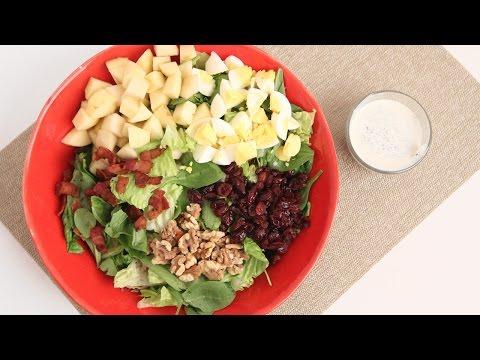 Winter Cobb Salad Recipe - Laura Vitale - Laura in the Kitchen Episode 853