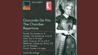 Trio Sonata in G Minor, Op. 2, No. 8, HWV 393: I. Andante