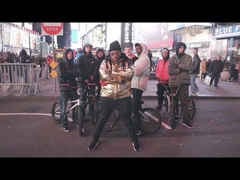 TRYING TO GET KICKED OUT OF TIMES SQUARE, NYC !!