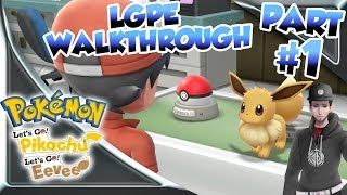 Pokemon Let's Go Pikachu & Eevee Walkthrough #01