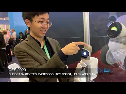 CLICBOT By KEYiTECH at CES 2020 - Amazing Toy Robot - Learn and Play