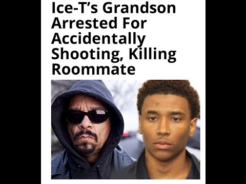 Ice-T's Grandson Arrested for Killing Roommate