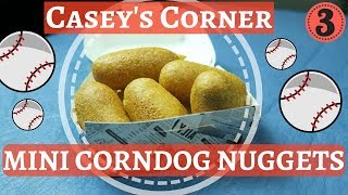Chef Dave  Mini Corndog Nuggets  Inspired Walt Disney World Magic Kingdom  KrispySmore